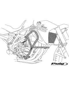 Puig Sturzbügel Honda VFR 800 X Crossrunner in schwarz