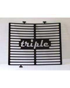 Kühlergrill schwarz Triumph Street Triple