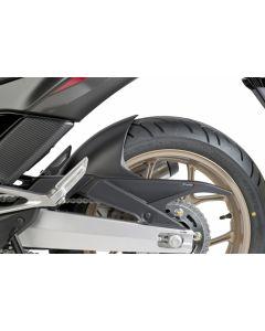 Puig Hinterradabdeckung Honda Integra 750 in schwarz matt
