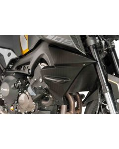 Puig Kühlerseitenverkleidung Yamaha MT-09 SP in carbon-look