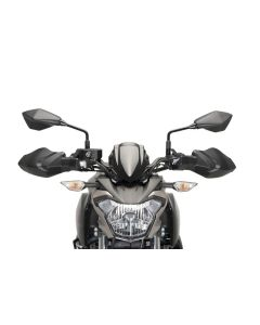 Puig Handschutzprotektoren / Hand Guards Kawasaki Z 650 in matt schwarz