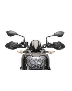Puig Handschutzprotektoren / Hand Guards Kawasaki Z 900 in matt schwarz