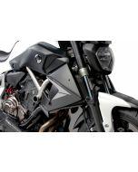 Puig Kühlerseitenverkleidung Yamaha MT-07 in matt-schwarz
