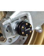 Montageständeraufnahme (Hinterradachse) Satz Aprilia RS 125